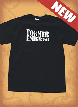 Red Letter 9 Embryo T-Shirt. XX-Large. Save 75%.